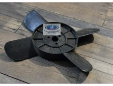 Lada 2101-2107 Coolant Fan 4 Blades Black